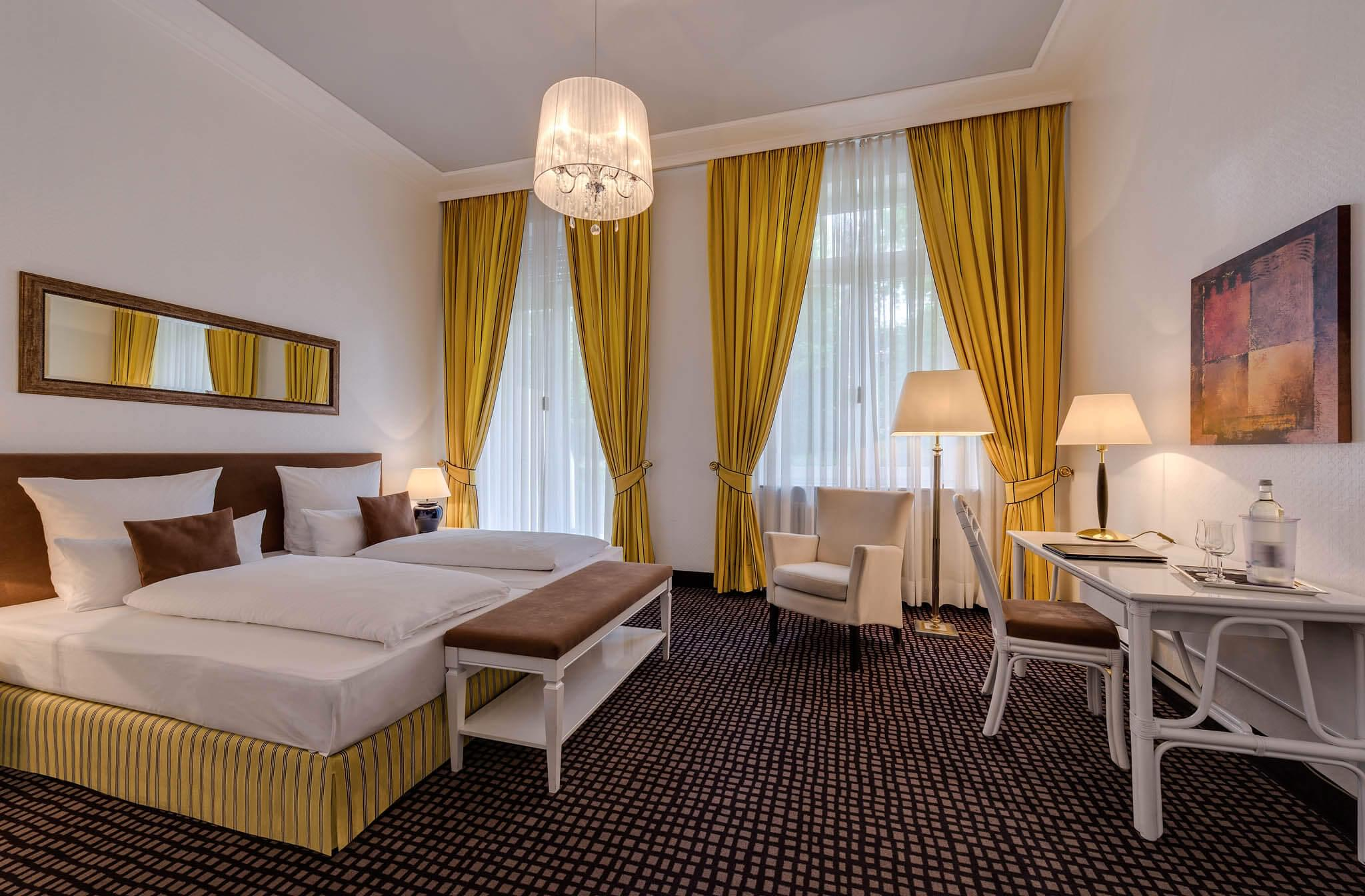 superior rooms baden-baden, Superior – Parkseite, Hotel am Sophienpark