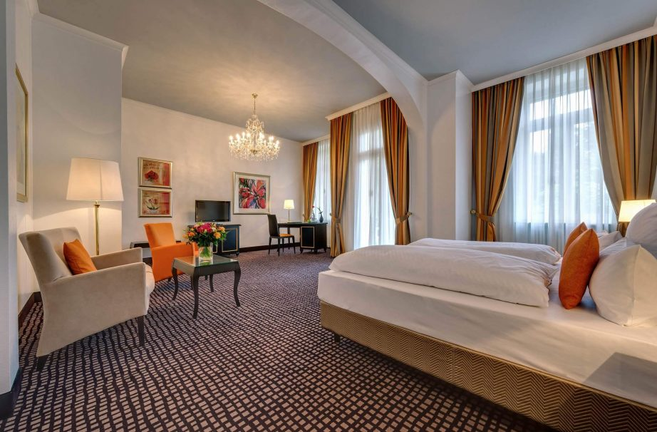 junior suite, Junior Suite – Parkseite, Hotel am Sophienpark