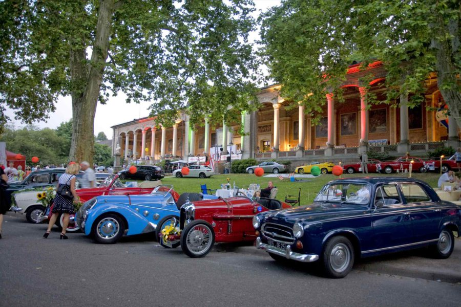 Oldtimer Meeting Baden-Baden Germany, Hotel Baden-Baden Germany