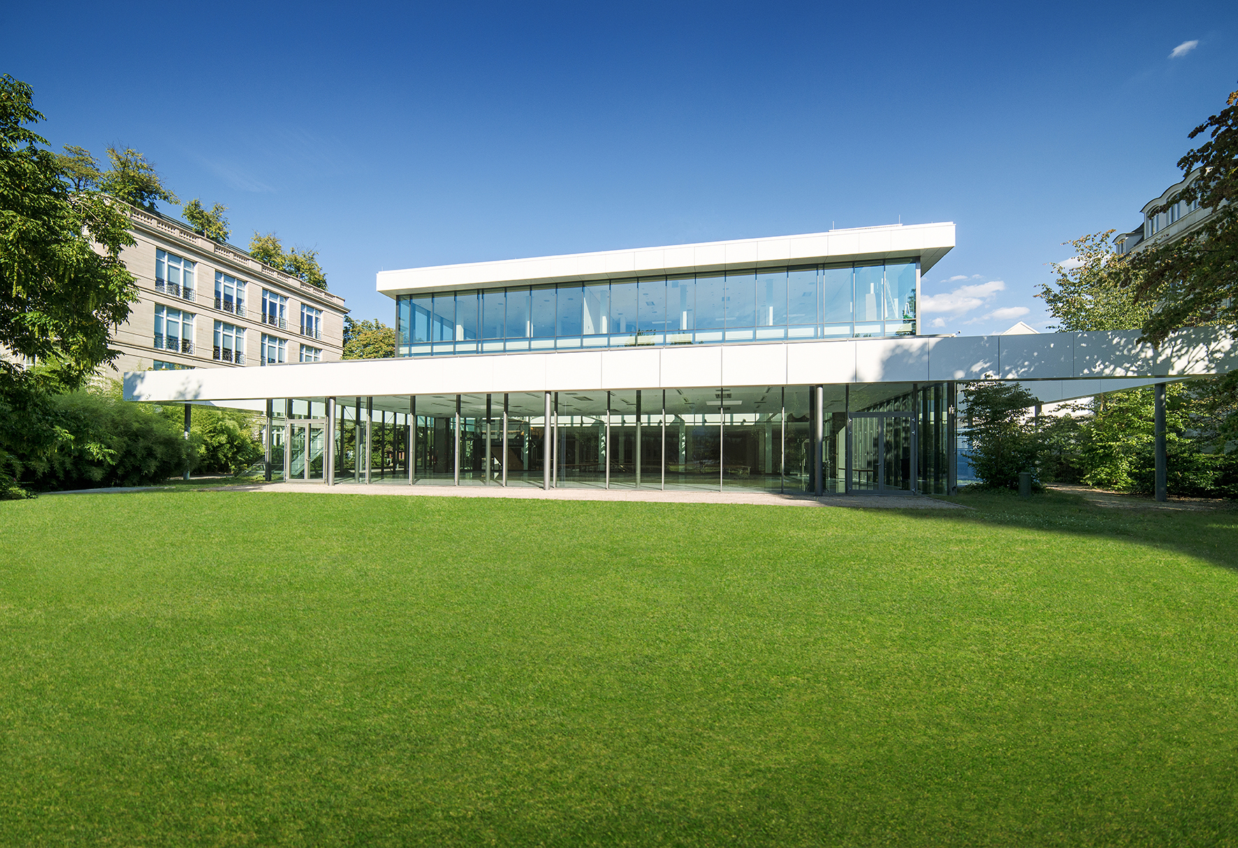 Convention Center Baden-Baden, Kongresshaus (Convention Centre), Hotel am Sophienpark